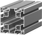 1.11.080080.83LP - aluminium Profiel 80x80 8E LP