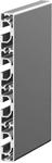 1.09.016160.44LP - aluminium Profiel 16x160, 4E, LP