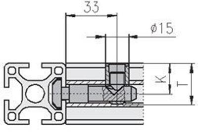 1.21.2E1 - Standaard verbinding 20-E Ø12