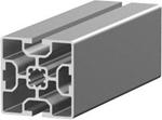 1.11.060060.23LP - aluminium Profiel 60x60, 2E LP