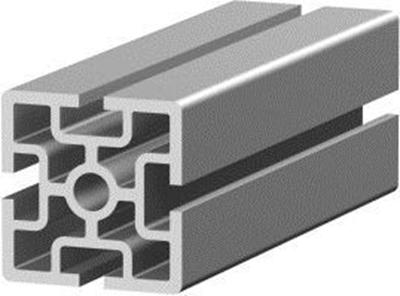 1.11.060060.43SP - aluminium Profiel 60x60 4E SP
