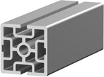 1.11.060060.23SP - aluminium Profiel 60x60 2E SP