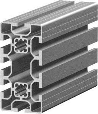 1.11.050100.84L - aluminium Profiel 50x100, 8E L