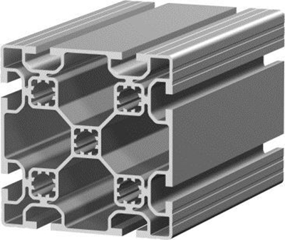 1.11.100100.83L - aluminium Profiel 100x100, 8E L