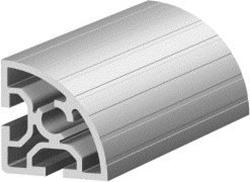 1.11.050050.21S - aluminium Profiel 50x50, 2E, Soft S
