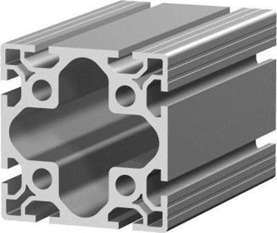 1.11.100100.83S - aluminium Profiel 100x100,8E S