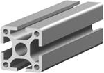 1.11.040040.43SP - aluminium Profiel 40x40, 4E SP (zwaar profiel)