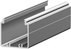 1.19.204040G - aluminium E-kanaal profiel 40x40