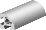 1.10.020020.21SP - aluminium Profiel 20x20 2H Soft SP