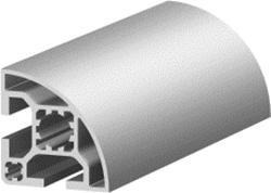 1.11.040040.21LP - aluminium Profiel 40x40 SOFT 2E LP