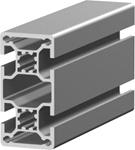 1.11.040080.44LBP - aluminium Profiel 40x80 4E LBP