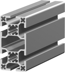 1.11.040080.64LP - aluminium Profiel 40x80 6E LP
