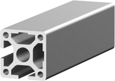1.11.040040.22SP - aluminium Profiel 40x40 2E hoek SP