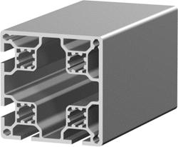 1.11.080080.42LP - aluminium Profiel 80x80 4E LP