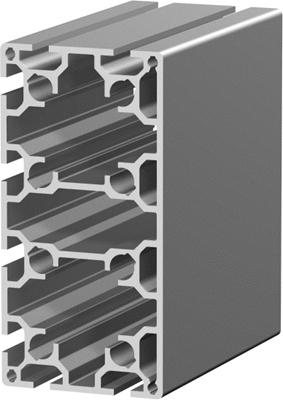 1.11.080160.84LP - aluminium Profiel 80x160 8E LP