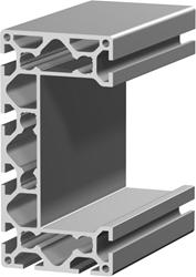 1.11.080160.89SP - aluminium Profiel 80x160 8E SP