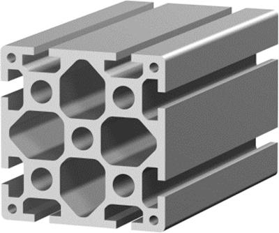 1.11.090090.83SP - Aluminium Profiel 90x90 8E SP
