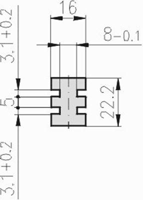 1.19.185E3E3.20 - Glijprofiel PA E3