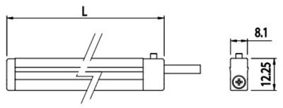 3.13-015.4000.1000 - Led Strip - 1000mm