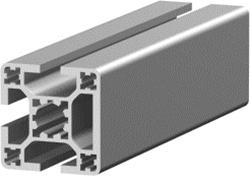 1.11.040040.33LP - Aluminium Profiel 40x40, 3E LP (Licht profiel)