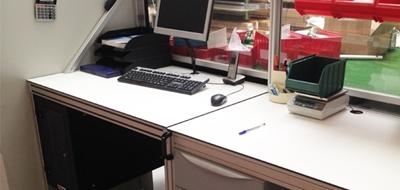 Werkplek / werktafel op maat
