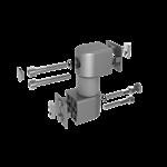 1.63.54040L.XX - Gewricht voor een systeemarm 40mm (Set)