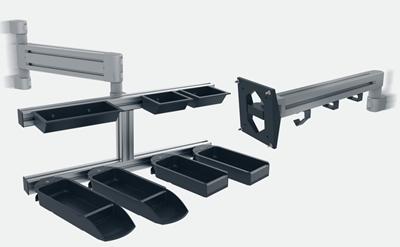 1.63.54080L.XX - Gewricht voor een systeemarm 40-80mm (Set)