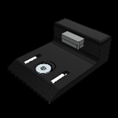 1.65.2402 - Deuraanslag met EPDM demper voor montage in de dagmaat