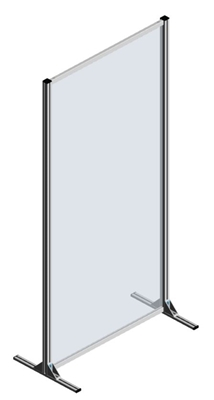 3.9.10200.V1 - Corona Scherm 1000x2000mm