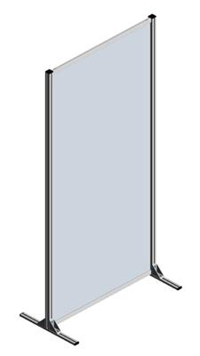 3.9.10200.V1 - Corona Scherm 1000x2000mm - HPL