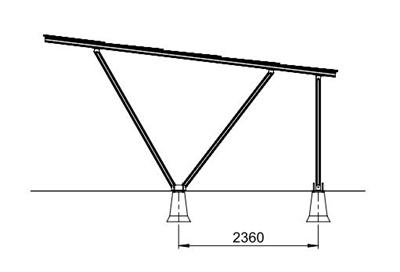 Zonnepanelen Carport 1A-L