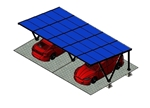Zonnepanelen Carport - 2A-XL