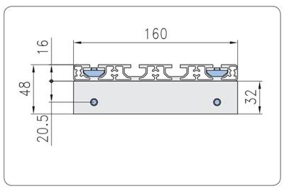 1.67.S101.030060F - Eco-Slide PG 30 - 60F
