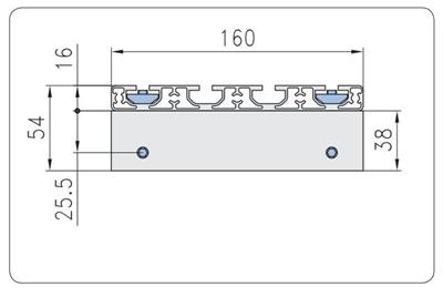 1.67.S102.040040E- Eco-Slide PG 40 - 40E met hendel