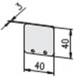 1.75.2040402 E-kanaal eindkap