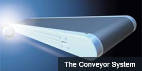 Maytec conveyer system - Transportbanden