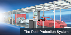 Maytec Dust protection system - Stof beveiliging