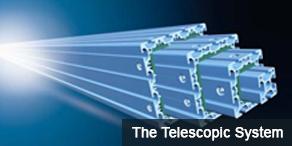 Maytec Telescopic system Profiles - Telescoop aluminium profielen